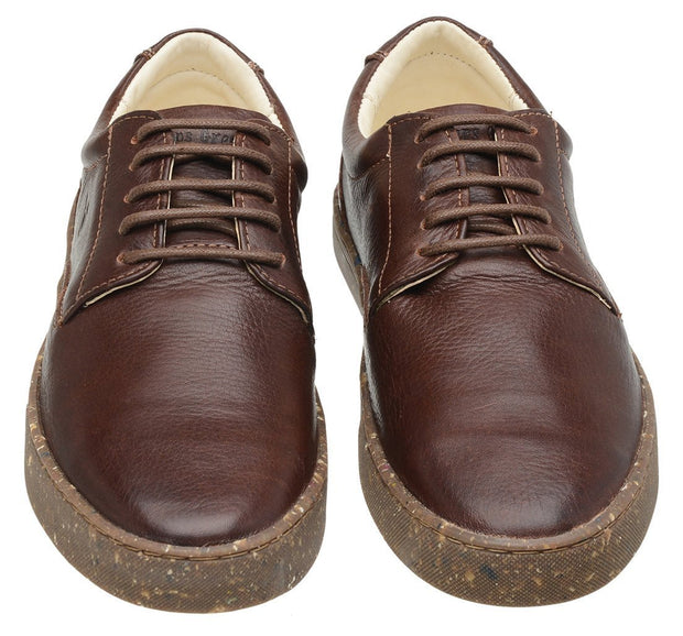 Sneaker Female Gold Coast Leather Biodegradable Brown