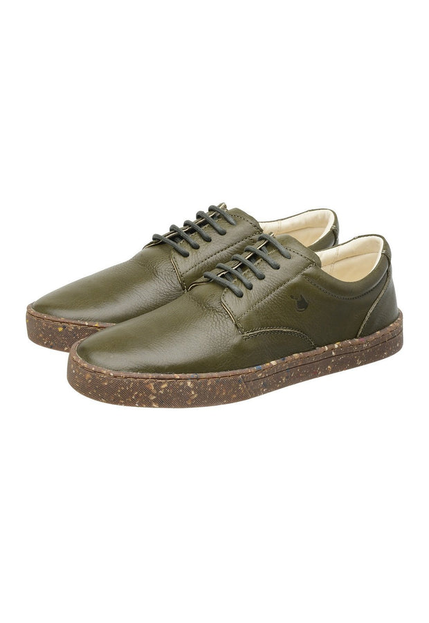 Sneaker Female Gold Coast Leather Biodegradable Green
