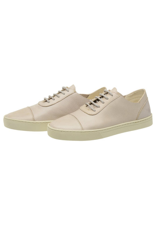 Sneaker Female Hyams Leather Shoelaces Biodegradable white