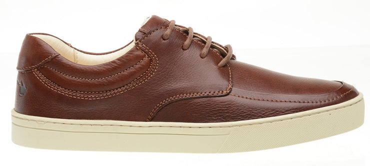Sneaker Female Lancelin Leather Biodegradable Casual Brown