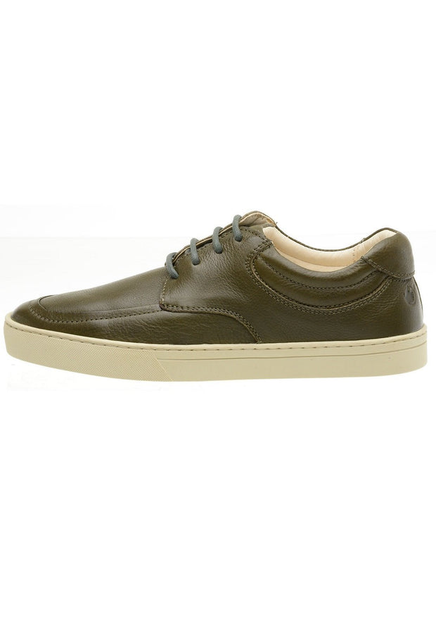 Sneaker Female Lancelin Leather Casual Green Biodegradable