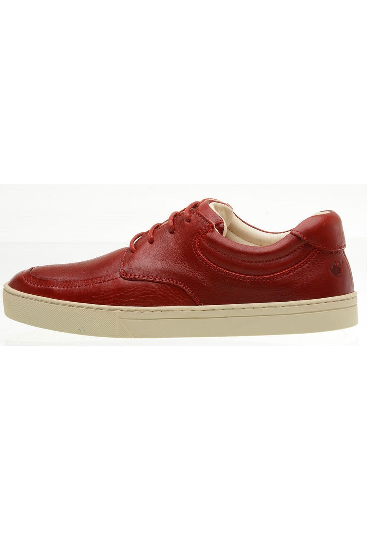 Sneaker Female Lancelin Leather Biodegradable Casual Red