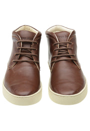 Sneaker Female Mandalay Leather Cano Low Biodegradable Brown