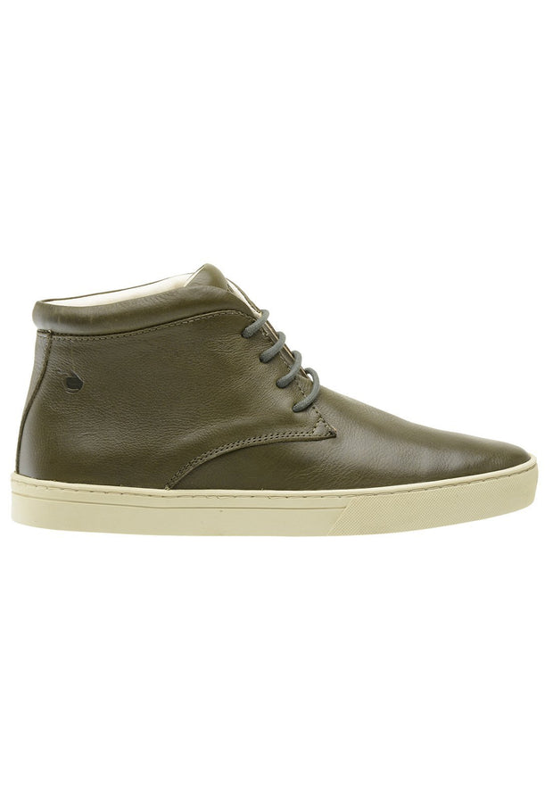 Sneaker Female Mandalay Leather Cano Low Biodegradable Green