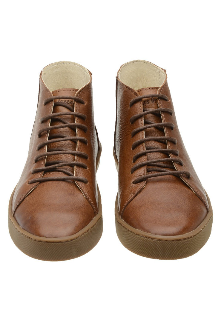 Sneaker Female Mission Leather Cano Low Biodegradable Caramel