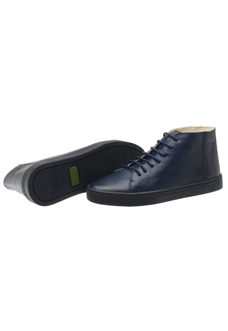 Sneaker Female Mission Leather Cano Low Biodegradable Marine