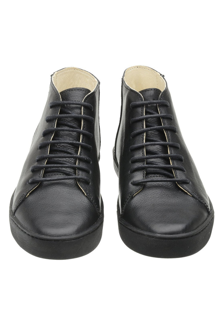 Sneaker Female Mission Leather Cano Low Biodegradable Black