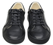 Sneaker Female Palm Leather Shoelaces Biodegradable Casual Black