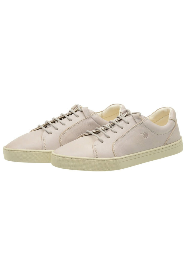 Sneaker Female Palm Leather Shoelaces Biodegradable Casual white