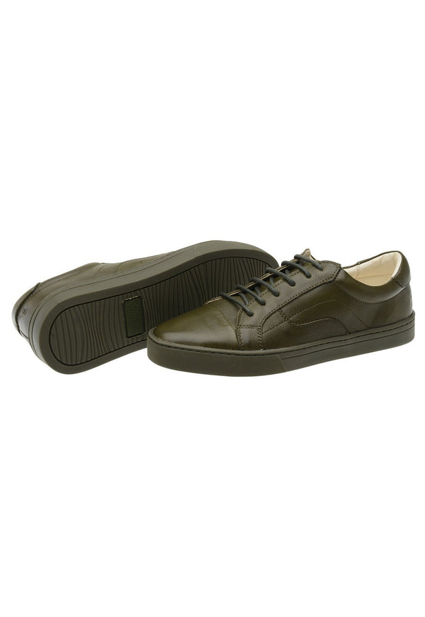 Sneaker Female Leather Squeaky Green Biodegradable