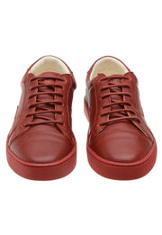 Sneaker Female Squeaky Leather Biodegradable Red