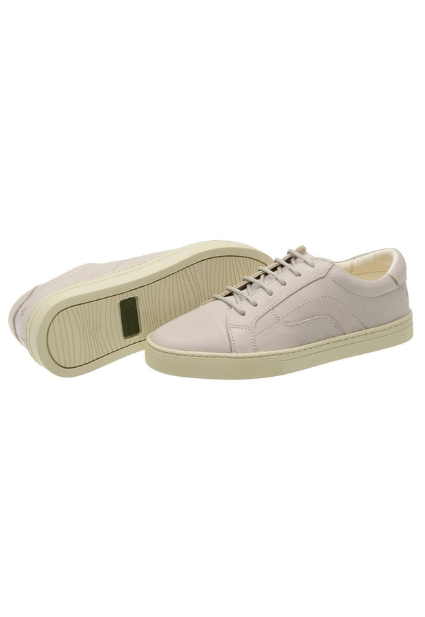 Sneaker Female Squeaky Leather Biodegradable white