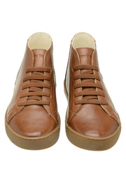 Sneaker Female Torquay Leather Pipe Down Caramel