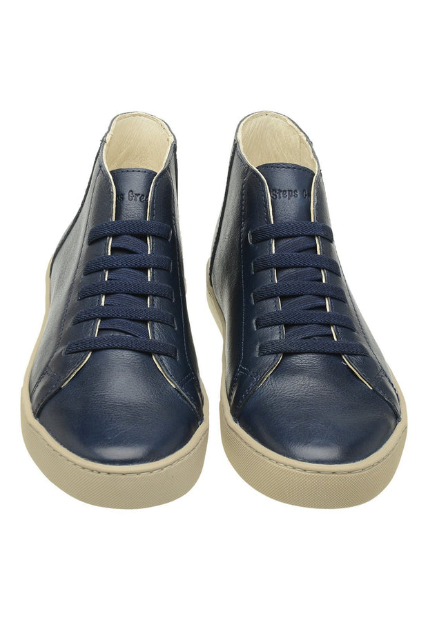 Sneaker Female Torquay Leather Low Cano Marine