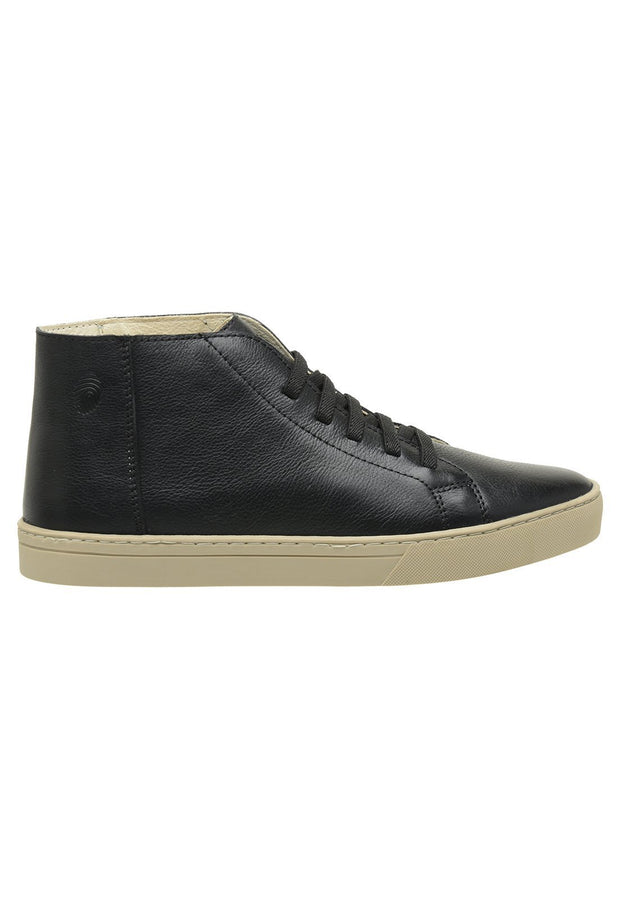Sneaker Female Torquay Leather Cano Low Black