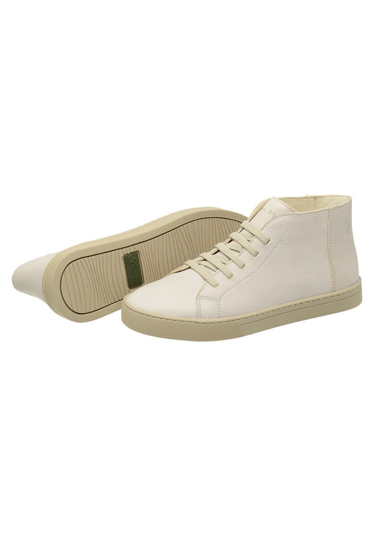 Sneaker Female Torquay Leather Cano Low white