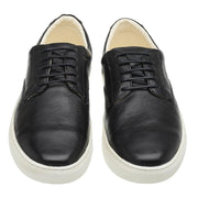 Sneaker Male Byron Leather Shoelaces Biodegradable Casual Black
