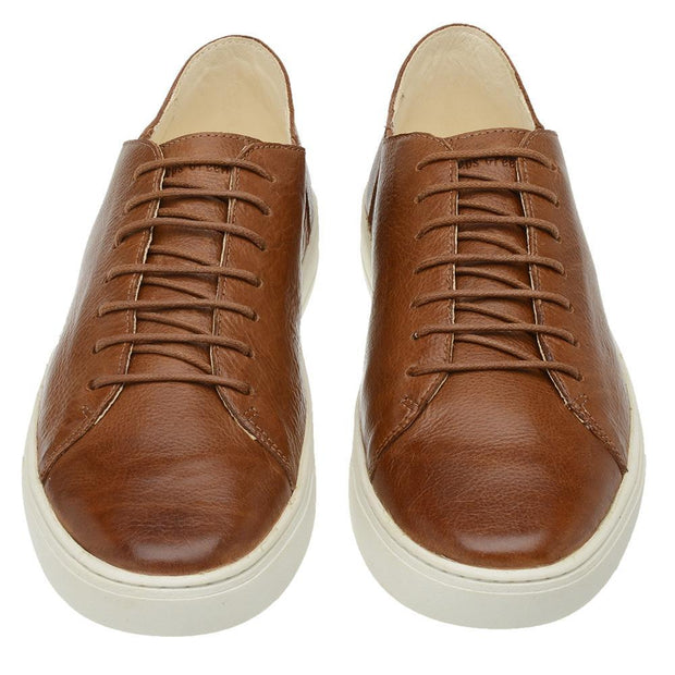 Sneaker Male Gold Coast Leather Shoelaces Biodegradable Caramel