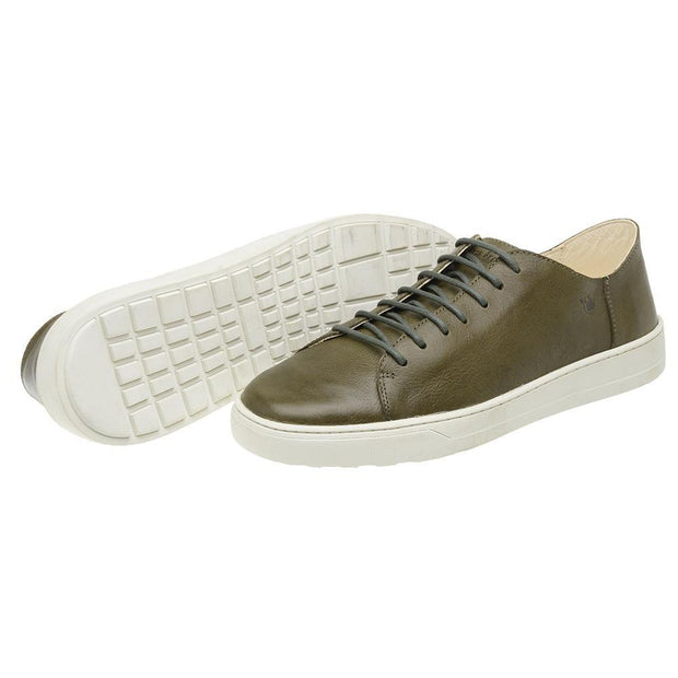 Sneaker Male Gold Coast Leather Shoelaces Biodegradable Green