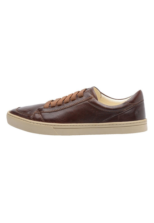 Sneaker Male Sunfly Leather Shoelaces Biodegradable Brown