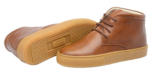 Shoe Leather Boot Shoelaces Children Sustainable Caramel