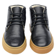 Shoe Leather Boot Shoelaces Children Sustainable Black