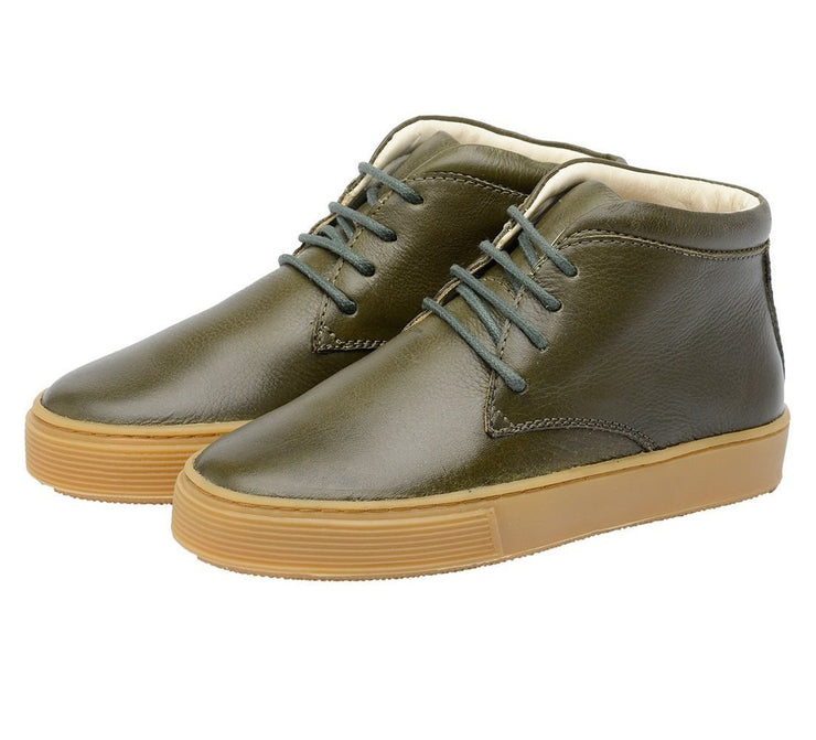 Shoe Leather Boot Shoelaces Children Sustainable Green
