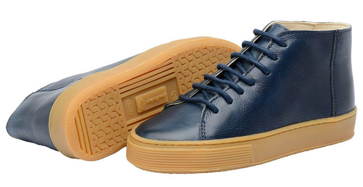 Shoe Leather Upper East Shoelaces Children Sustainable Marine