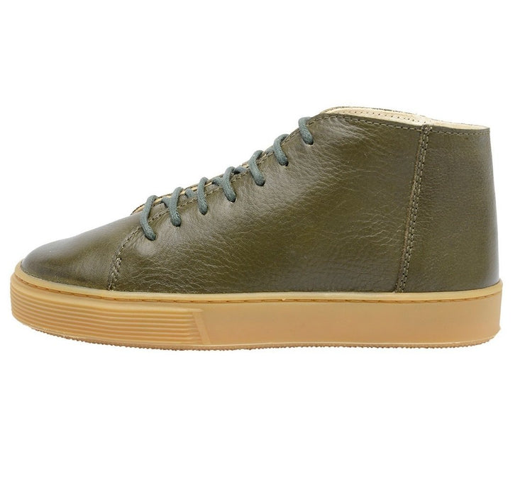 Shoe Leather Upper East Shoelaces Children Sustainable Green