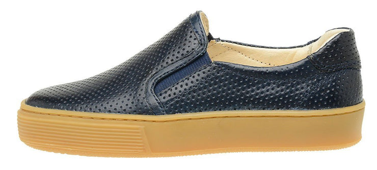 Shoe Slip On Leather Perfuros Children Sustainable Marine