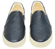Shoe Slip On Leather Elastic Female Yacht Marine