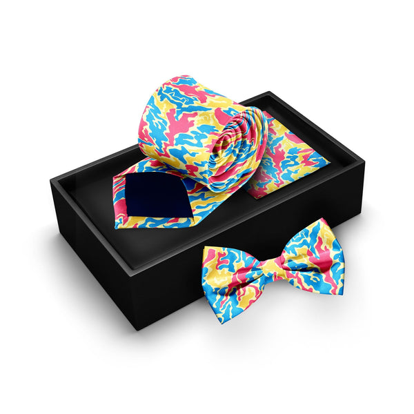 Tie, Bow Tie & Pocket Square