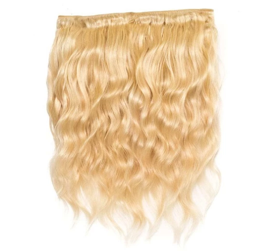 Russian Blonde Wavy Bundle