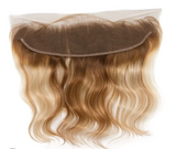 Blonde Swirl Indian Wavy Frontal (13x4)