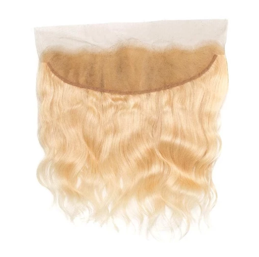 Russian Blonde Wavy Frontal (13X4)