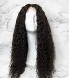 Full Lace Wig Indian Curly