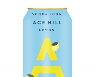 Ace Hill Lemon Vodka Soda
