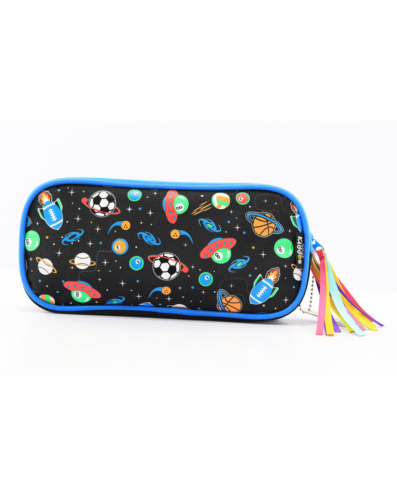 Fancy Transparent Pencil Case (Black)