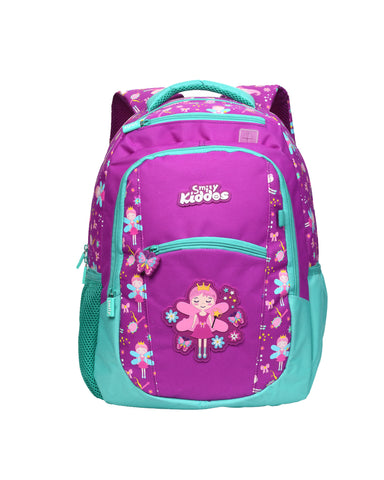 Image of Smily Dual Color Backpack Purple