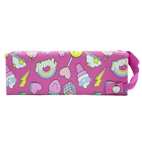 Image of Smily Tray Pencil Case Pink
