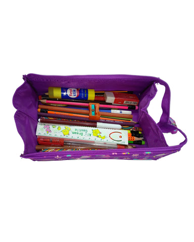 Smily Tray Pencil Case (Purple)