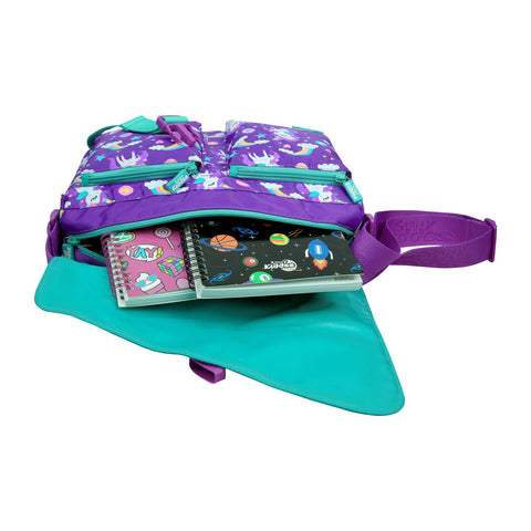 Image of Fancy Shoulder Bag (Purple)