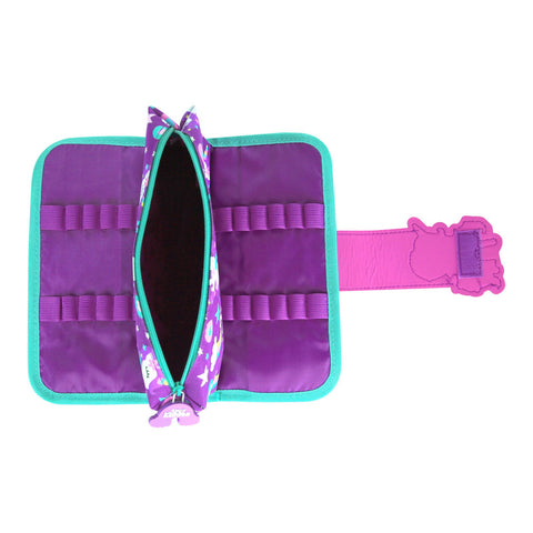 Image of Fancy Strap Pencil Case Purple