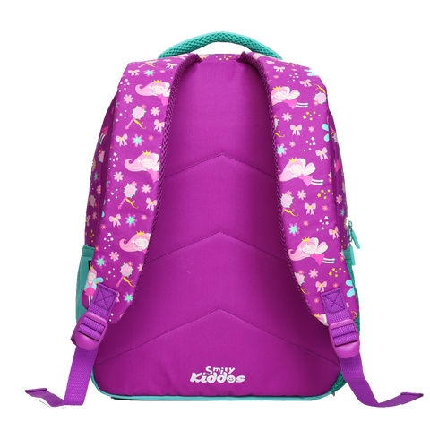 Smily Dual Color Backpack Purple