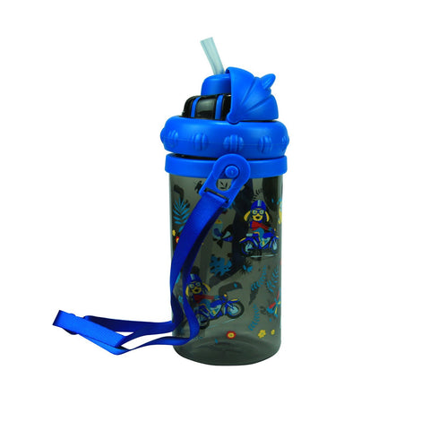 Image of Smily Sipper Water Bottle Black