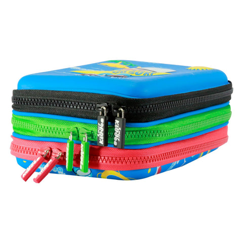 Smily Hartdtop Triple Up Pencil Case Black
