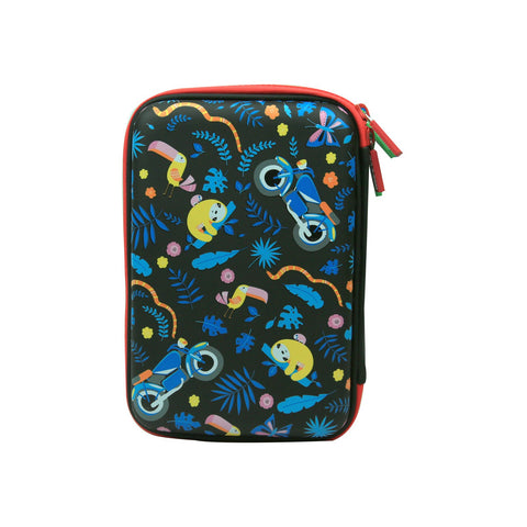 Image of Smily Hartdtop Triple Up Pencil Case Black