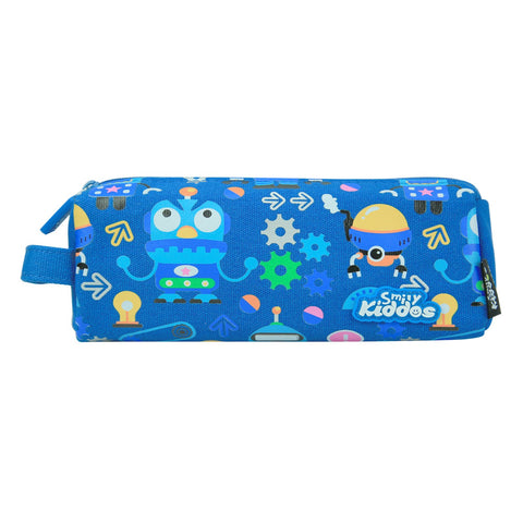 Image of Smily Pencil Pouch Blue