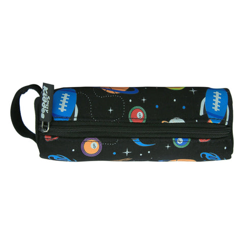 Smily Pencil Pouch Black