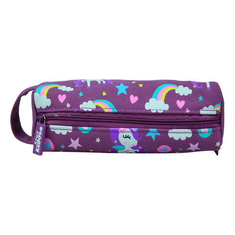 Smily Pencil Pouch Purple